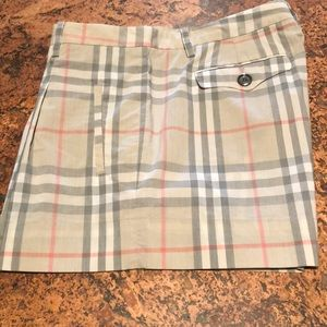 Burberry shorts. Size 8
